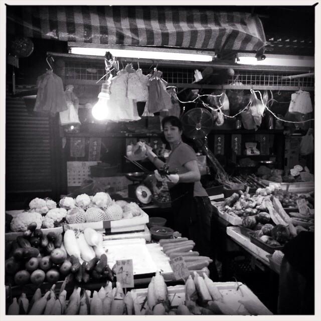 #Vegetables for sale at the #YauMaTei #street #market. #mono #hongkong #hk #hkig