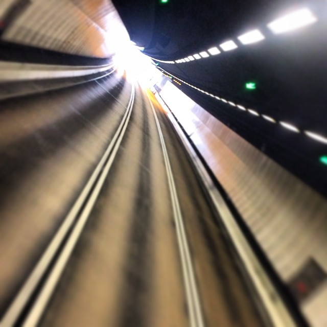 #abstract - the #light atb the end of the ( #TaiLam) #Tunnel. #hongkong #hk #hkig #roads
