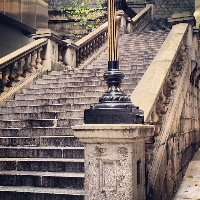 #steps of the past echo on. The #Duddell #Street Steps. #hongkong #hk #hkig