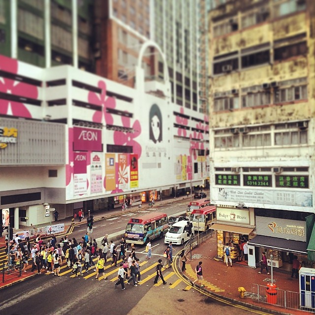 #pandahotel and a #tsuenwan #street corner on a rainy day. #hongkong #hk #hkig