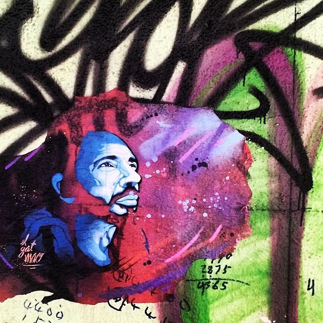 #psychedelic #streetart / #graffiti in #Central, #hongkong. #hk #hkig