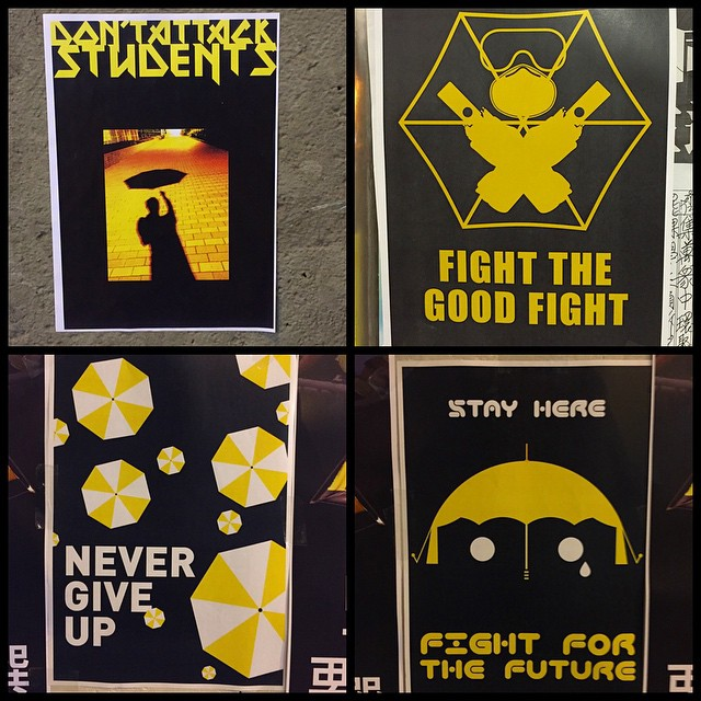 Even more #posters from the #umbrellarevolution / #OccupyHK. #HongKong #hk #hkig