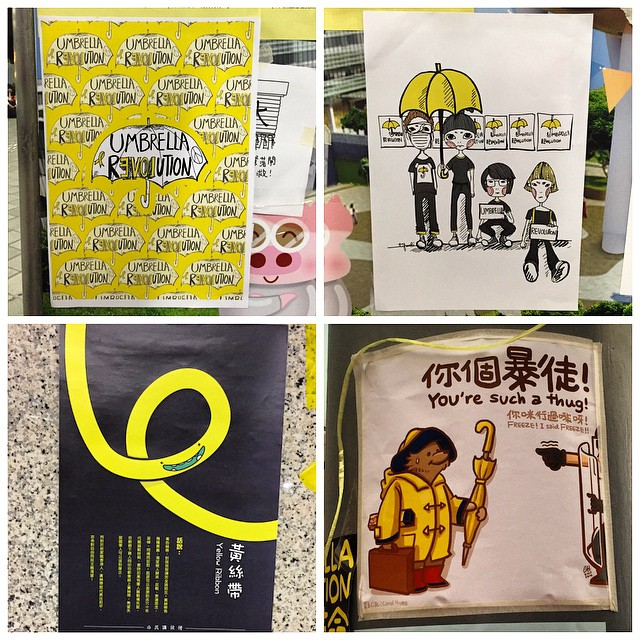 More #posters from the #umbrellarevolution / #OccupyHK. #HongKong #hk #hkig
