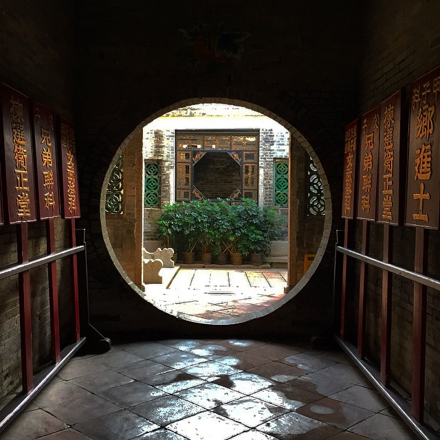 The entrance #foyer at #ChingShuHin, a traditional Chinese residence in the #PingShan #Heritage Trail in #YuenLong. #HongKong #hk #hkig