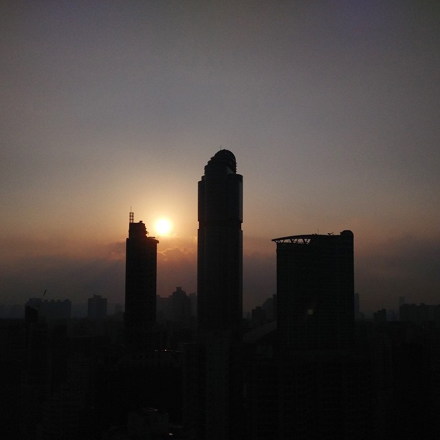#dawn - #sunrise over a re-occupied #Mongkok. #HongKong #hk #hkig
