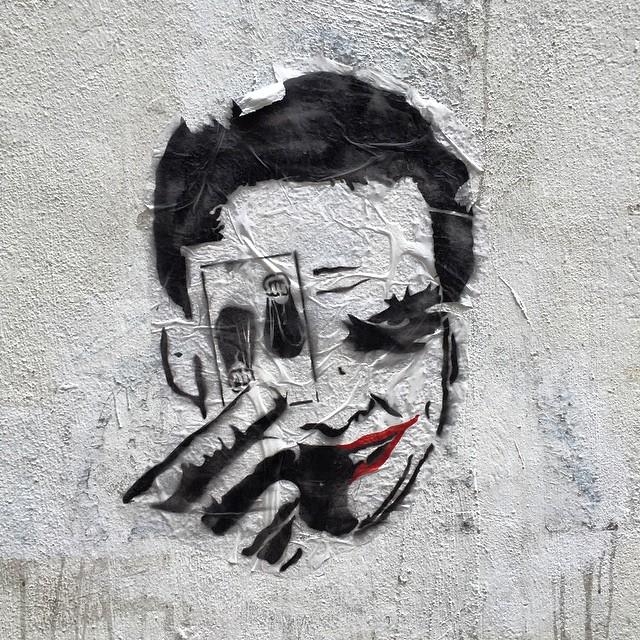 #graffiti in #SheungWan. Er, it's the #Joker, me thinks. #HongKong #hk #hkig