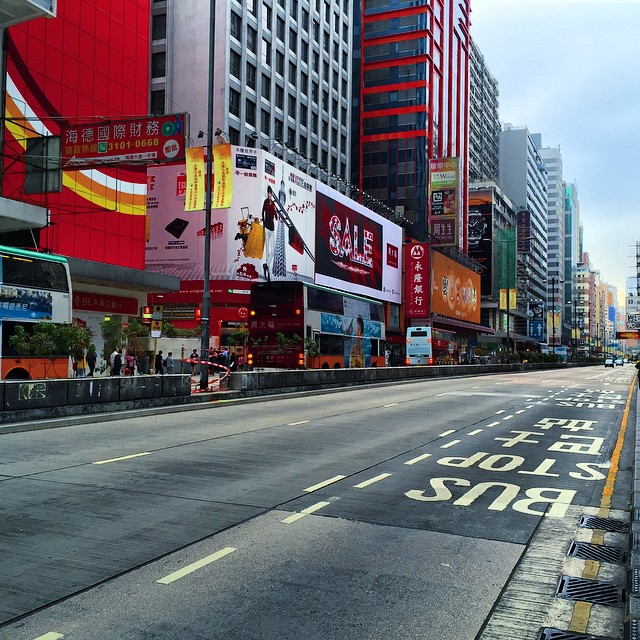 #OccupyHK #Mongkok has been cleared. #NathanRoad is now back open to traffic. #HongKong #hk #hkig