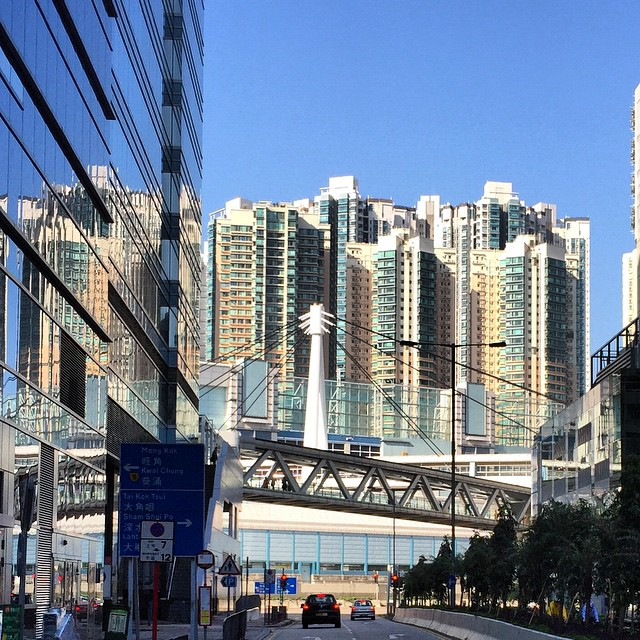 #mirror #mirage - #reflections of #buildings. #HongKong #hk #hkig