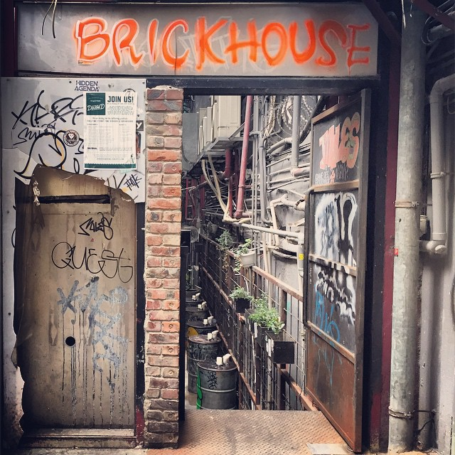 #backlane entrance to the #brickhouse, a #bar / Mexican restaurant in #Central, #HongKong. #HK #hkig