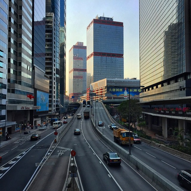 #evening on the border of #Central and #SheungWan, #HongKong. #HK #hkig