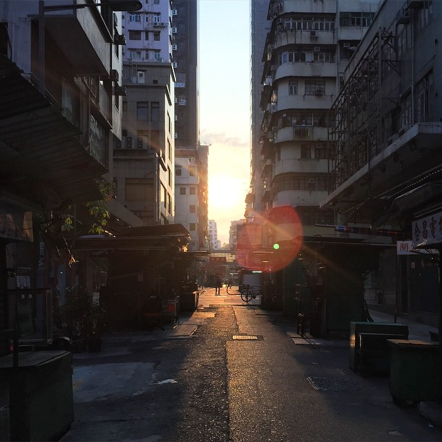 A #lensflare #morning on the #streets of #Mongkok. #HongKong #hk #hkig
