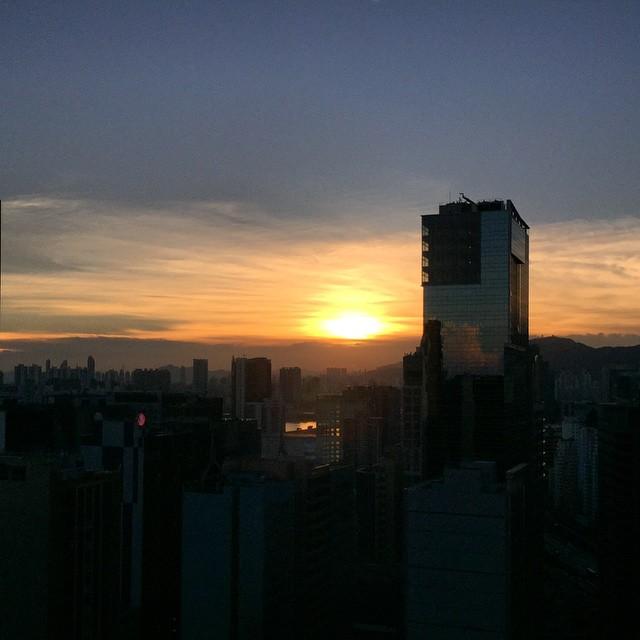 A #summer #sunset over #Kowloon. #HongKong #hk #hkig