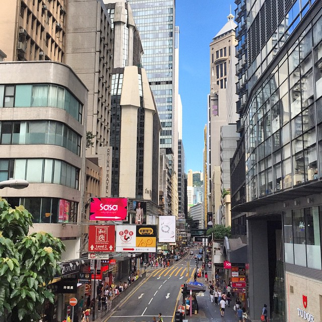 #Central #HongKong in the #evening. #HK #hkig