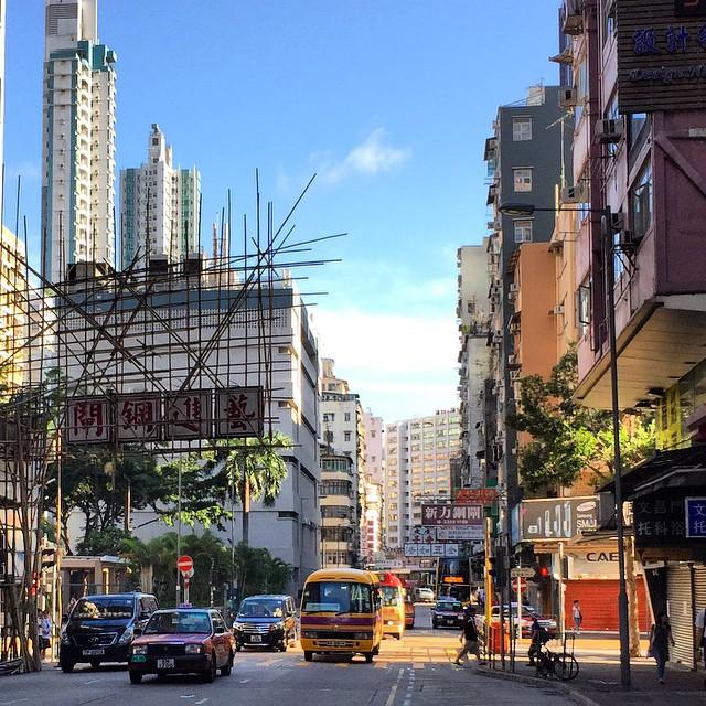 #Mongkok #morning #traffic. #HongKong #HK #hkig