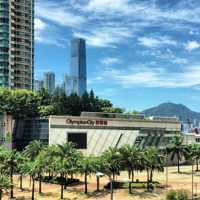 #OlympianCity in #TaiKokTsui, #Kowloon. #ICC looms in the background. #HongKong #hk #hkig