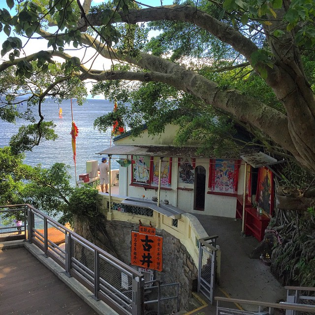 #PakTaiTemple in #Stanley is built into the hillside facing out to sea. #HongKong #hk #hkig #temple