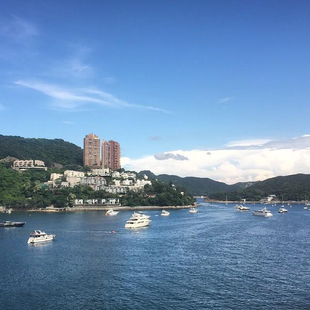 South #HongKong island - land of beaches, #yachts and sea. #HK #hkig #DeepWaterBay