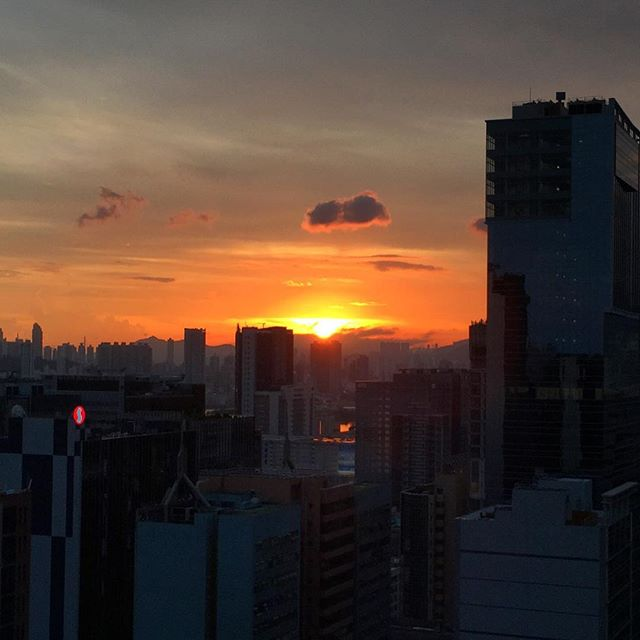 Good #evening, #kowloon. #HongKong #hk #hkig #sunset