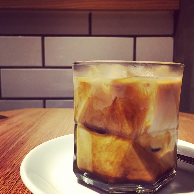On a hot #HongKong #summer, a good way to caffeinate is with an iced #latte at #CoCoEspresso. #hk #hkig #icedlatte #coffee