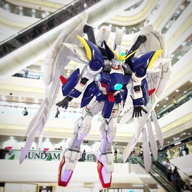 #Gundam returns to #TimesSquare in #CausewayBay, #HongKong. #HK #hkig