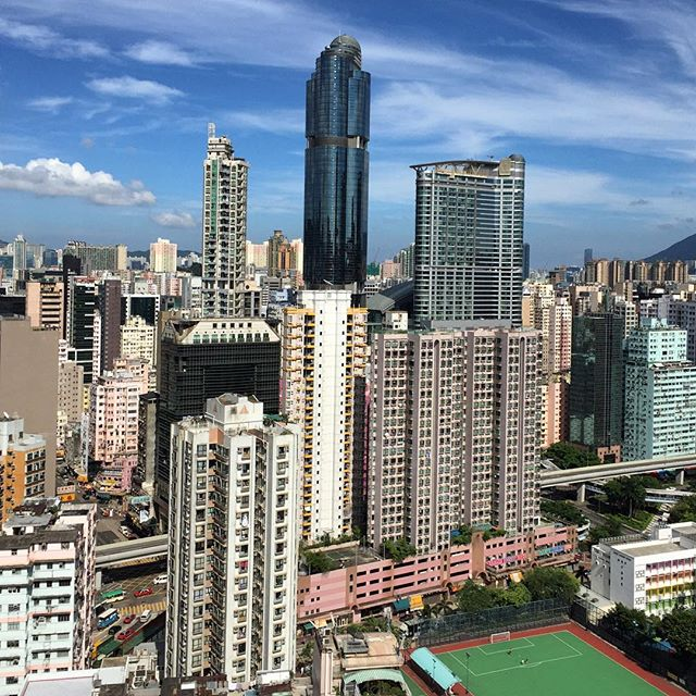 #langhamplace and #mongkok on a #HongKong #summer #afternoon. #HK #hkig