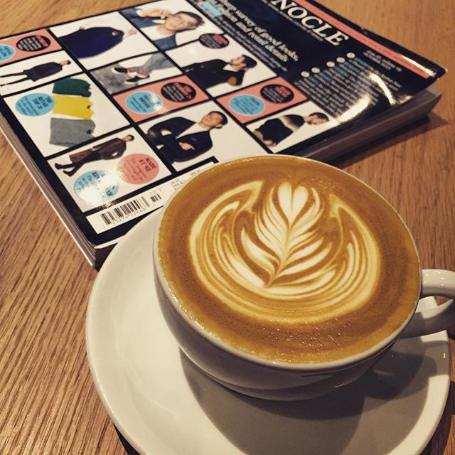 Happy #InternationalCoffeeDay. Here's a #latte at #cocoespresso. #coffee #HongKong #hk #hkig