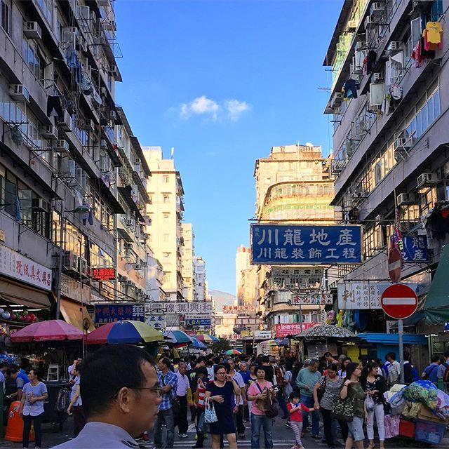 #ApliuStreet #streetmarket in #ShamShuiPo. #hongkong #hk #hkig