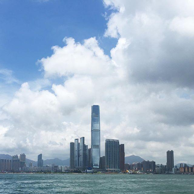 #cloudy #ICC #kowloon. #hongkong #hk #hkig