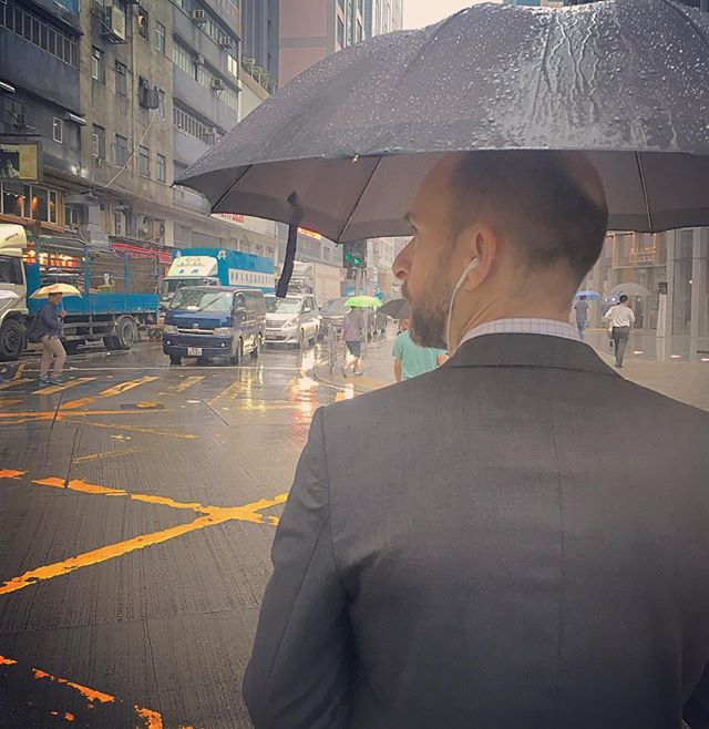 #portrait of a #businessman on a #rainy #morning in #KwunTong. #hongkong #hk #hkig