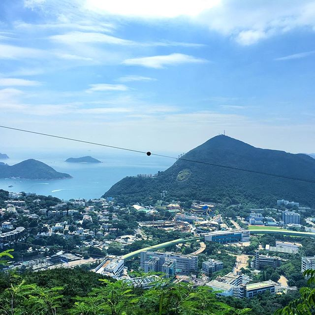 #OceanPark as viewed while #hiking Section 2 of the #HongKong #trail. #hk #hkig #HongKongTrail