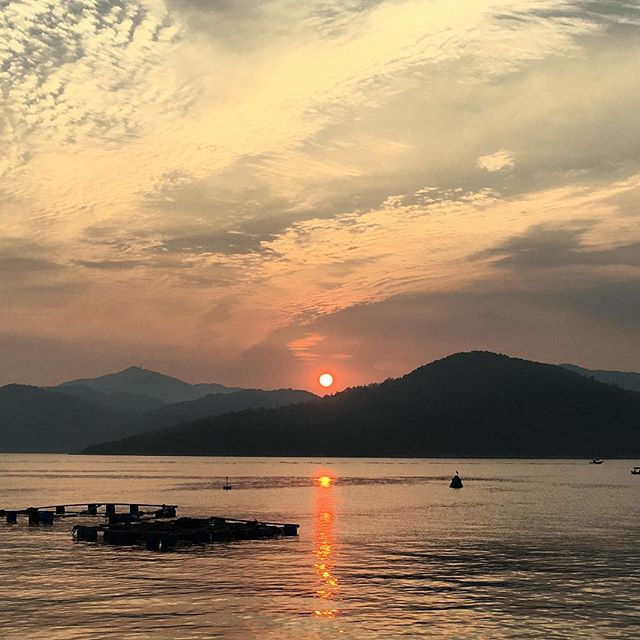 #sunset on #TapMun / #GrassIsland in #HongKong. #hiking #hk #hkig