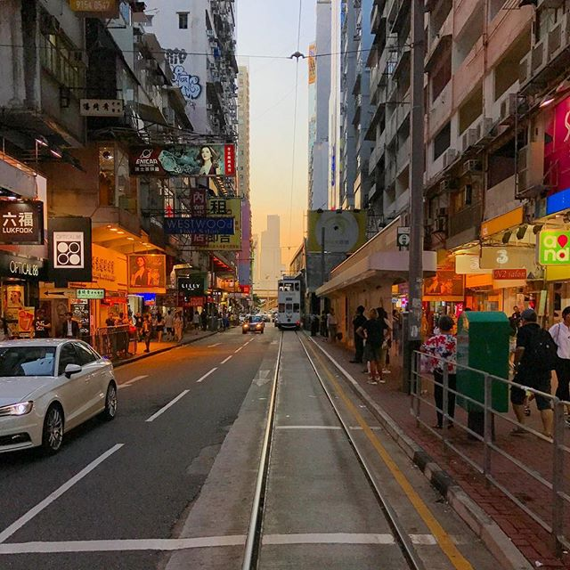 #evening in #CausewayBay, #HongKong. #hk #hkig